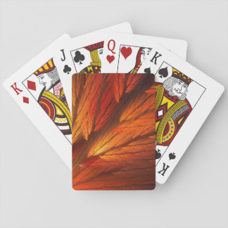 Standard Index Playing Cards Abstract Fractal
