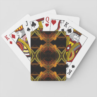 Standard Index Playing Crds Abstract Fractal Desig Playing Cards