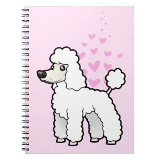 Standard / Miniature / Toy Poodle Love Notebook