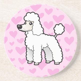 Standard/Miniature/Toy Poodle Love (puppy cut) Coaster