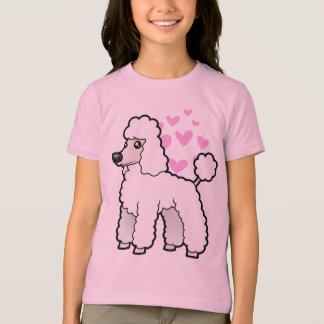 Standard/Miniature/Toy Poodle Love (puppy cut) T-Shirt