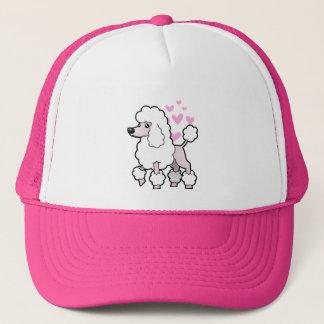Standard/Miniature/Toy Poodle Love (show cut) Cap