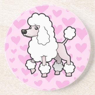 Standard/Miniature/Toy Poodle Love (show cut) Coaster