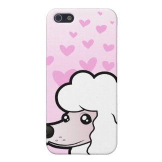 Standard/Miniature/Toy Poodle Love (show cut) iPhone 5/5S Cover