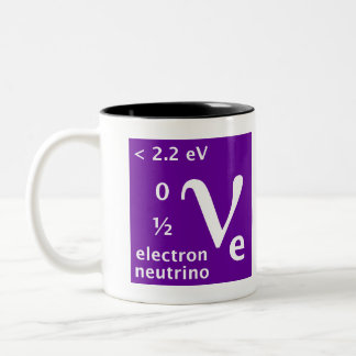Standard Model (electron neutrino) Two-Tone Coffee Mug