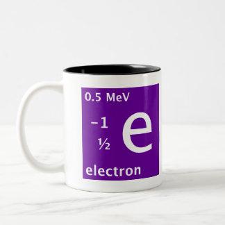 Standard Model (electron) Two-Tone Mug