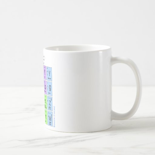 Standard Model Of Elementary Particles Coffee Mugs