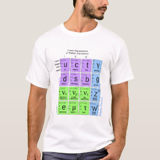 Standard Model Of Elementary Particles T-Shirt