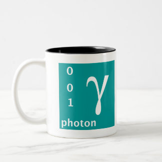 Standard Model (photon) Two-Tone Coffee Mug