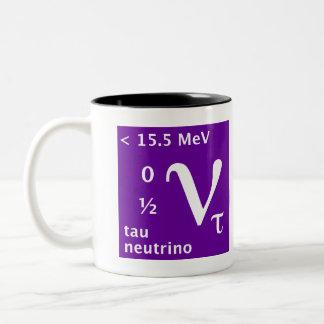 Standard Model (tau neutrino) Two-Tone Coffee Mug