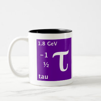 Standard Model (tau) Two-Tone Coffee Mug