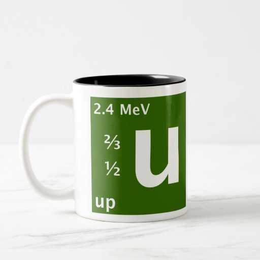 Standard Model (up quark) Coffee Mug