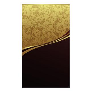 standard modern elegant salon business card temp