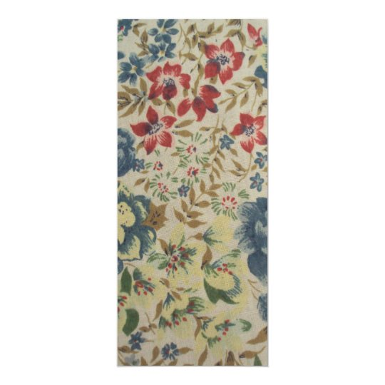 standard of flowers card
