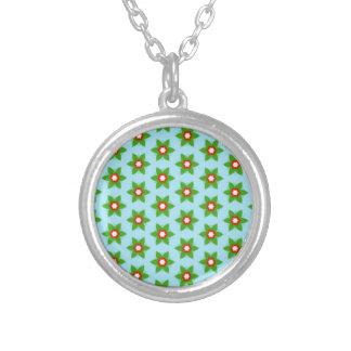 standard of green flowers jewelry