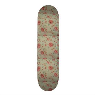 standard of roses custom skateboard
