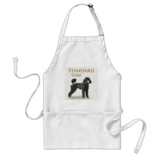 Standard Poodle Chef Standard Apron