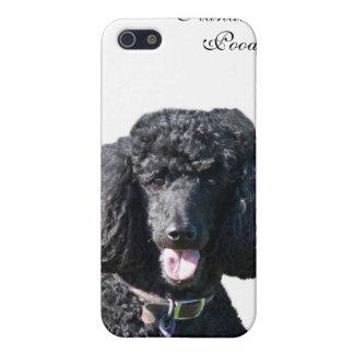 Standard Poodle dog black beautiful photo portrait iPhone 5 Cover