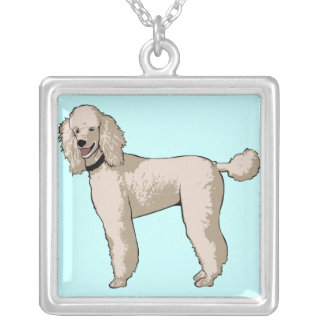 Standard Poodle Illustrated Necklace