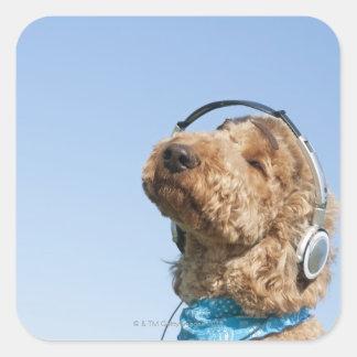 Standard Poodle Square Sticker