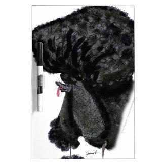 Standard Poodle, tony fernandes Dry Erase Board
