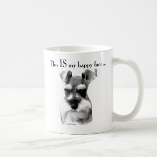 Standard Schnauzer Happy Face Coffee Mug
