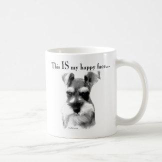 Standard Schnauzer Happy Face Mug