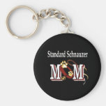 standard schnauzer mum Keychain