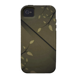 Standard_Steel_patterns_leaves_coffee_design Case-Mate iPhone 4 Cases