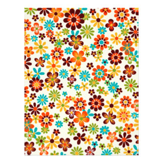 standard with flowers 21.5 cm x 28 cm flyer