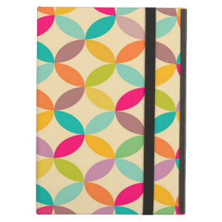 standard with geometric forms iPad air cover