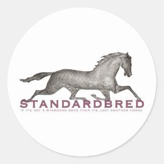 Standardbred Round Sticker