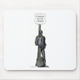 "Standin' on ""THE"" Corner! in Winslow Arizon Mouse Mat"