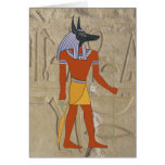Standing Anubis Card