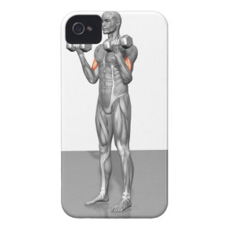 Standing Biceps Curl 2 iPhone 4 Covers