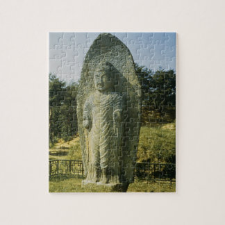 Standing Buddha at Ch'olch'on-ni, Naju, 10th centu Jigsaw Puzzle