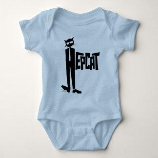 Standing Cat Baby Bodysuit
