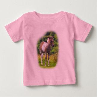 Standing Dartmoor Pony Foal infant tshirt