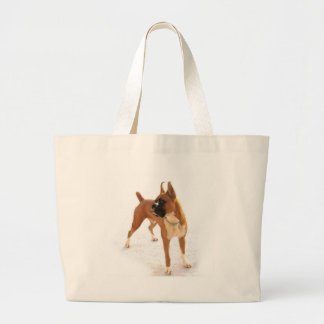 Standing fawn boxer bag