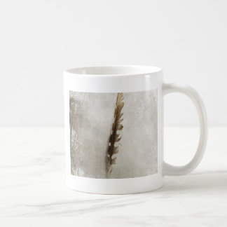 Standing Feather Coffee Mug