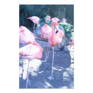 Standing Flamingo Customised Stationery