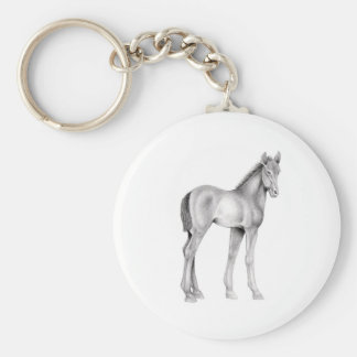 Standing Foal Key Ring