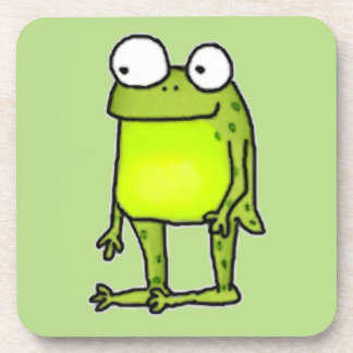 Standing Frog Drink Coaster