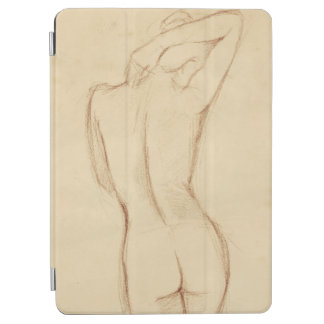 Standing Nude Female Drawing iPad Air Cover