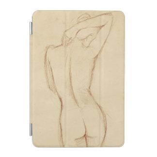 Standing Nude Female Drawing iPad Mini Cover