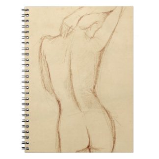 Standing Nude Female Drawing Notebook