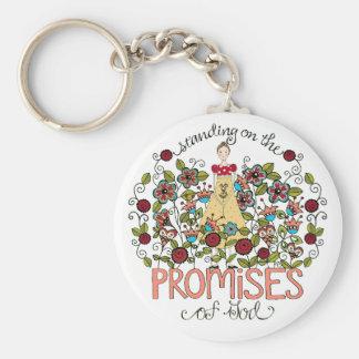 Standing on God s Promises Key Chain