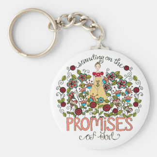 Standing on God's Promises Key Chain