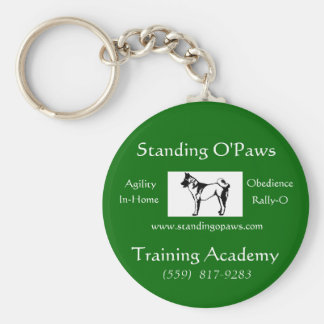 Standing O'Paws keychain