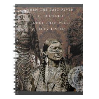 Standing Rock Spiral Notebook